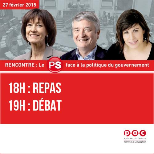 Rencontre/Débat avec laurette Onkelinx le 27 février 2015