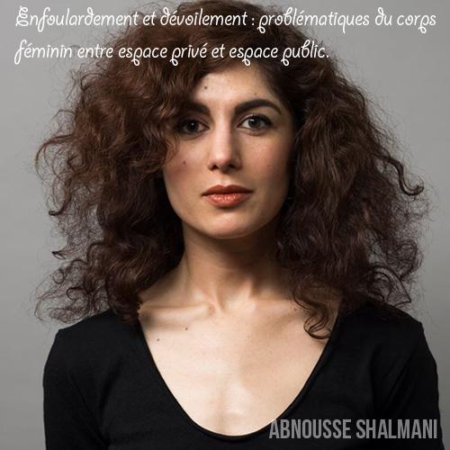 Conférence : Abnousse Shalmani - 12 février 2015