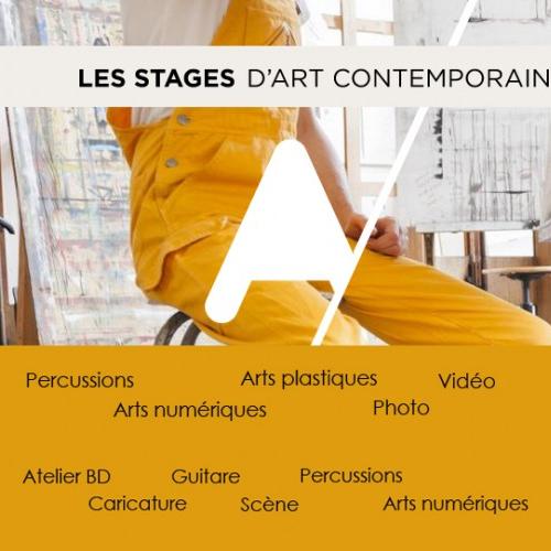 Les stages d'art contemporain ÉtÉ 2015