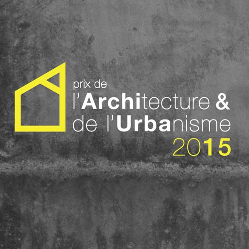 PROLONGATIONS des Inscriptions au Le Prix de l'architecture et de l'Urbanisme