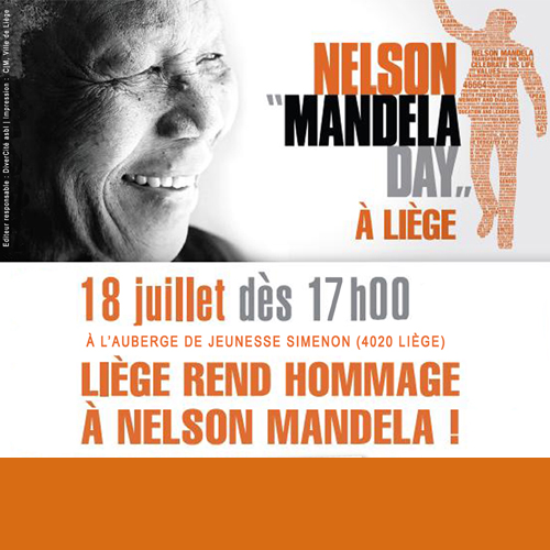 MANDELA DAY À LIÈGE 18 juillet