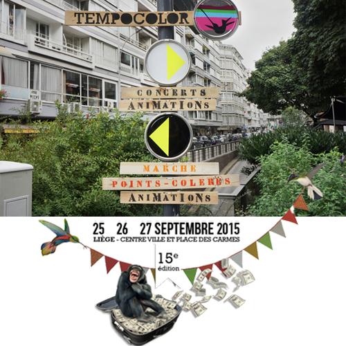 Festival Tempocolor : 25 > 27 septembre 2015