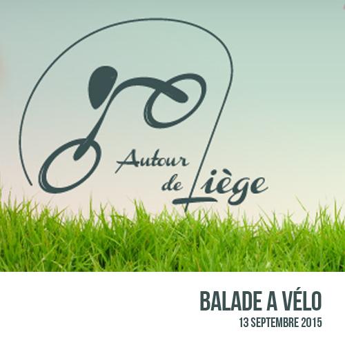 Balade à vélo : Autour de Liège
