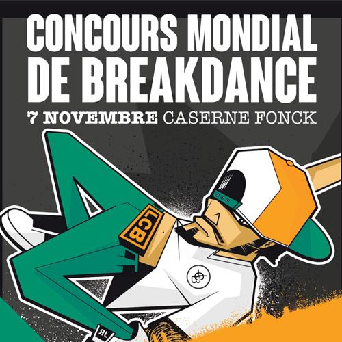 Concours mondial de breakdance le 07.11.2015 à la Caserne Fonck
