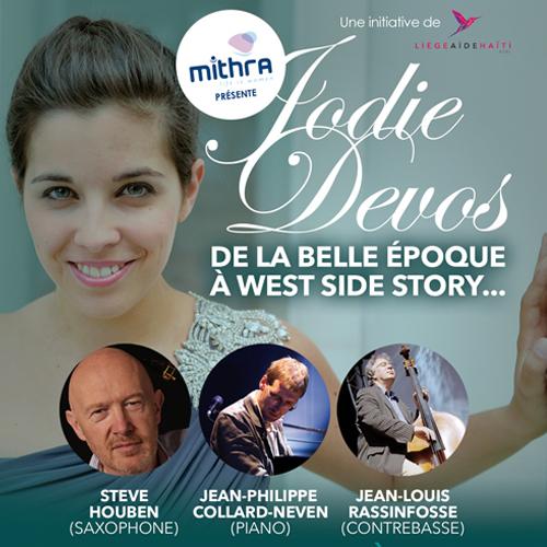 Soirée Liège aide Haïti asbl - De la Belle Epoque à West Side Story...