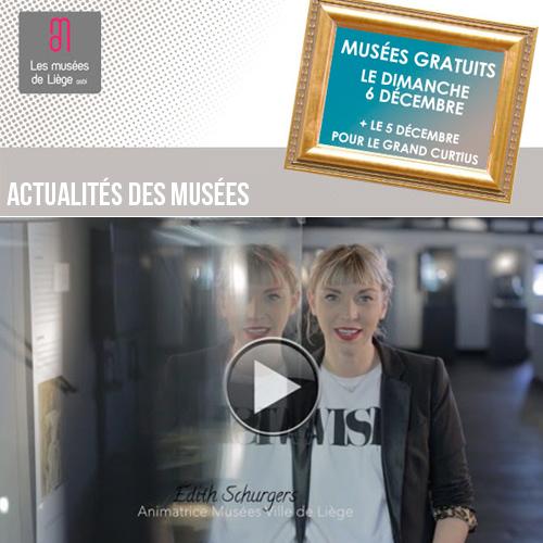 Expositions et activités dans les musées de Liège décembre 2015