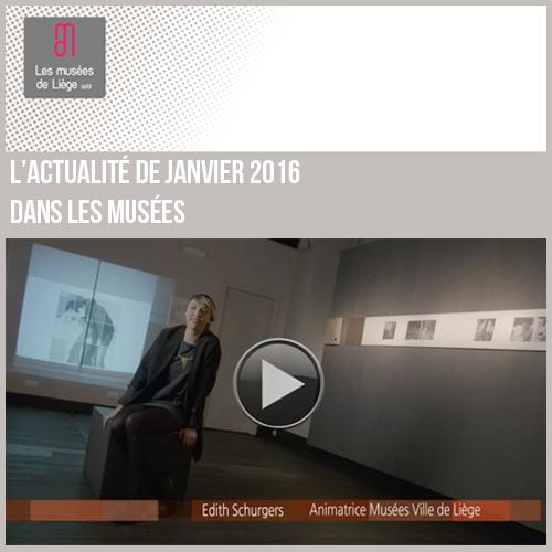 Expositions et activités dans les musées de Liège janvier 2016