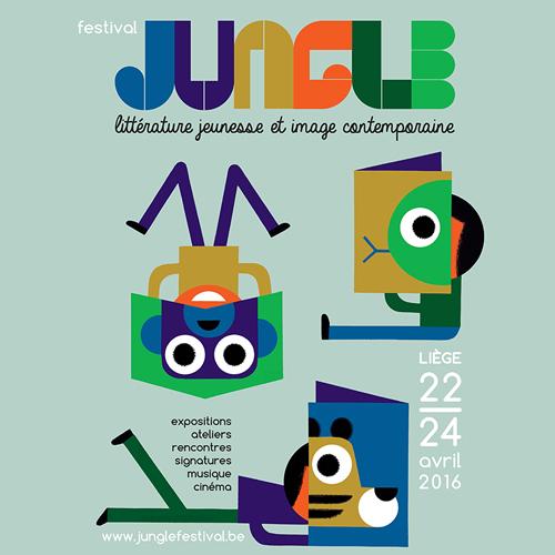 Festival Jungle : littérature jeunesse et image contemporaine - du 22 au 24.04