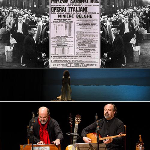 Commémoration du 70e anniversaire de l'Accord du Charbon entre l'Italie et la Belgique