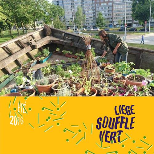 Liège souffle vert - du 15/06 au 15/09/2016