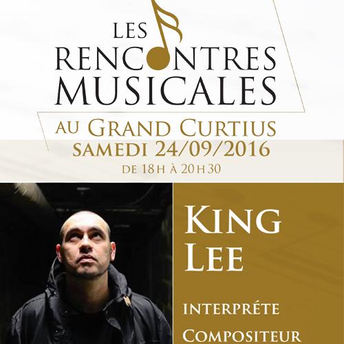 Les rencontres musicales au grand Curtius  King Lee   24/09